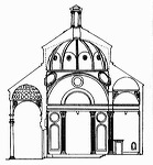 Pazzi Chapel - Filippo Brunelleschi - Great Buildings O
