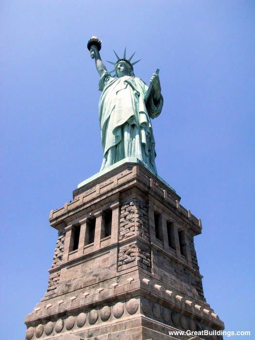 Www Greatbuildings Com Buildings Statue Of Liberty Html