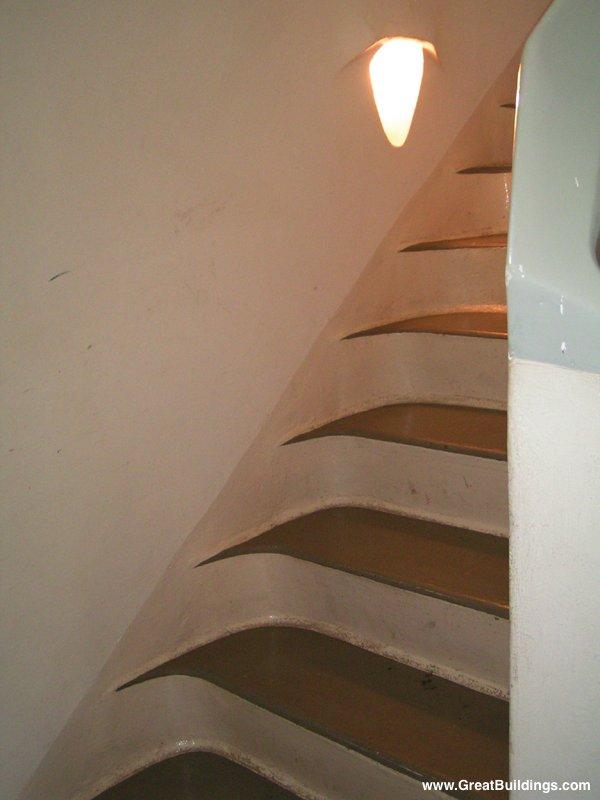 Photo, Interior, Stair Detail · Einstein Tower · Near Potsdam, Germany