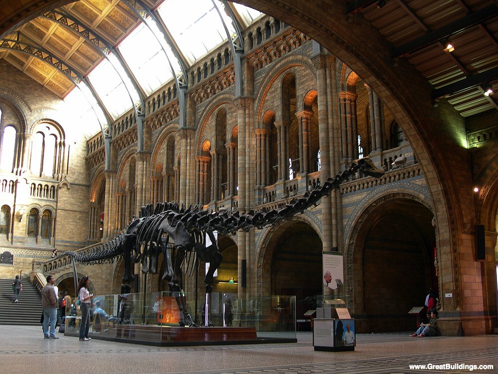Museum of Natural History - Alfred Waterhouse - Great Buildings ...
