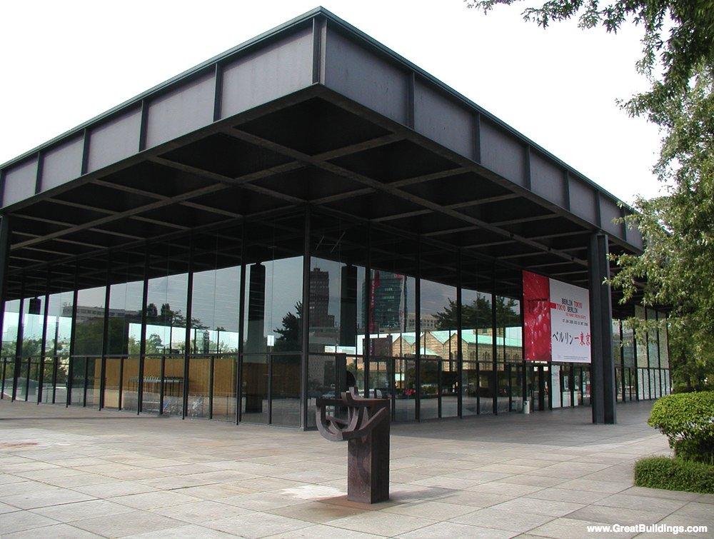 Neue Nationalgalerie - Rohe - Exterior