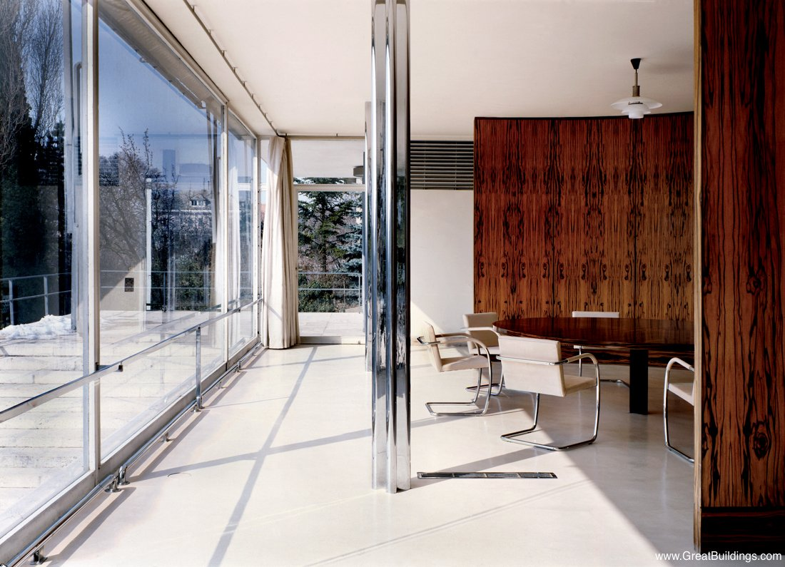 Www Greatbuildings Com Buildings Tugendhat House Html