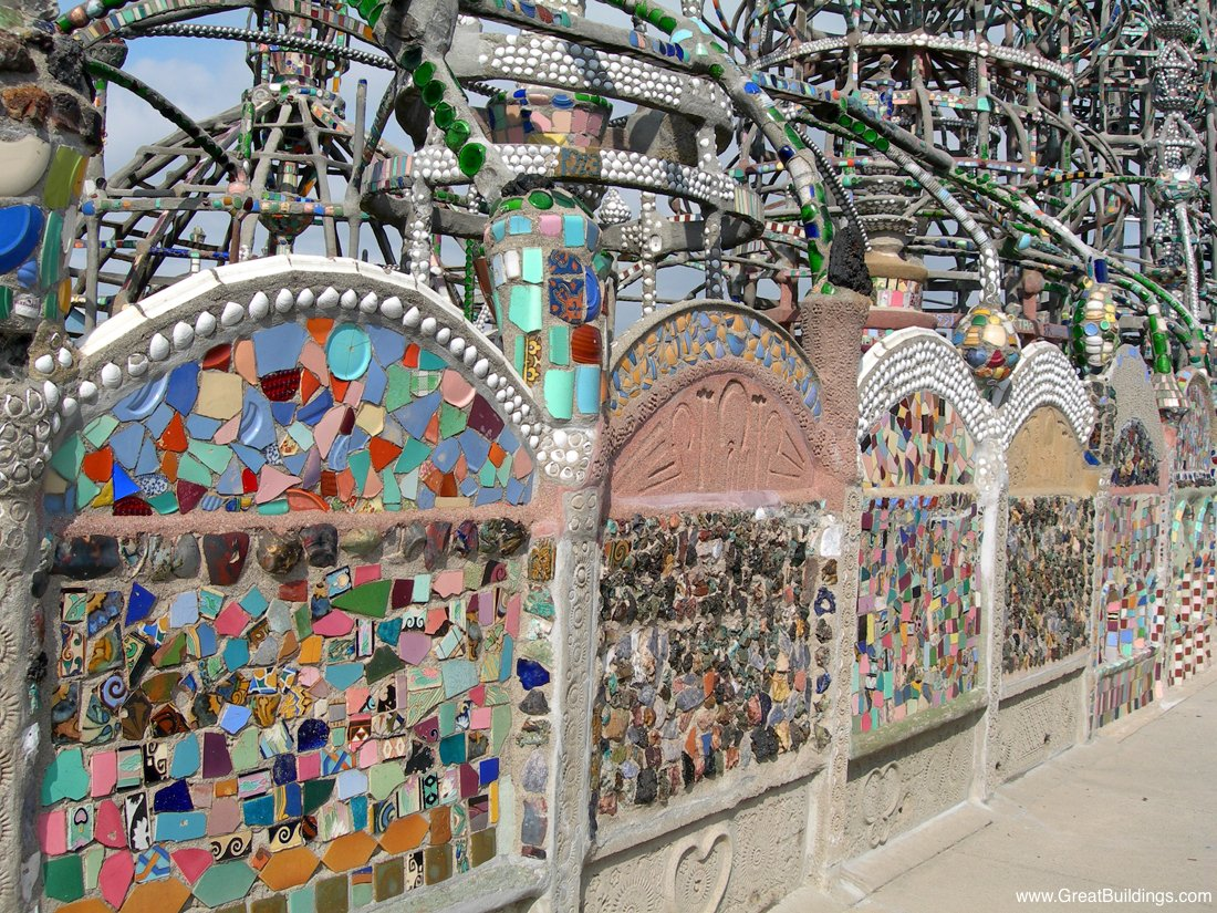 Great Buildings Image Watts Towers