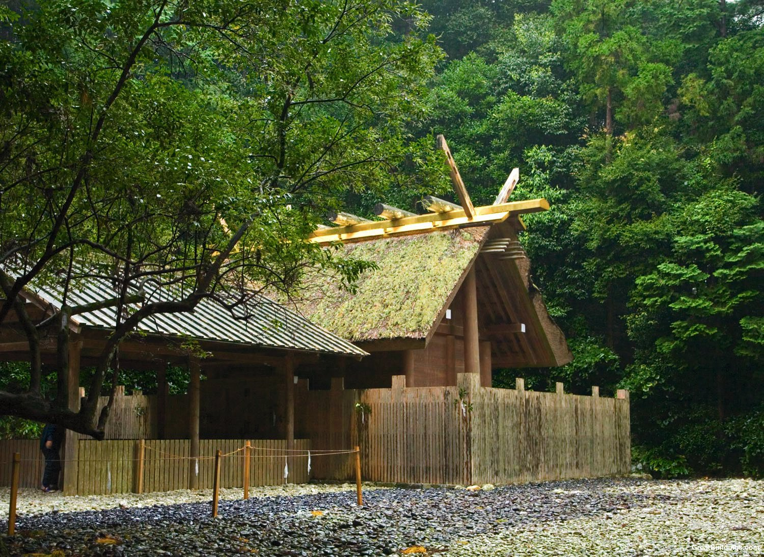 Great Buildings Image - Ise Shrine