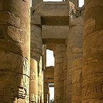 Temple of Amon, by unknown, at Karnak, Egypt, -1530 to -323.
