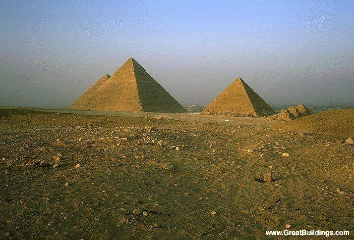who built the egyptian pyramids Why did the ancient egyptians build pyramids the egyptians believed that if the pharaoh's body could be mummified after death the pharaoh would live forever.