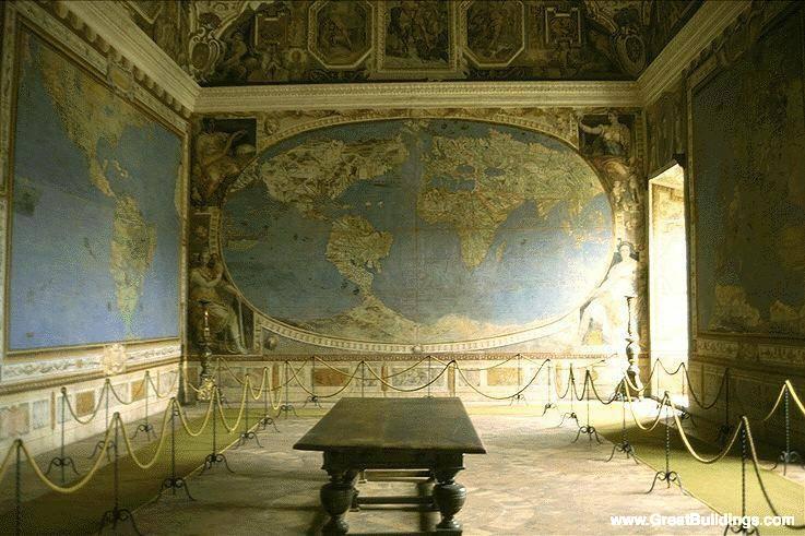 Great Buildings Image - Villa Farnese
