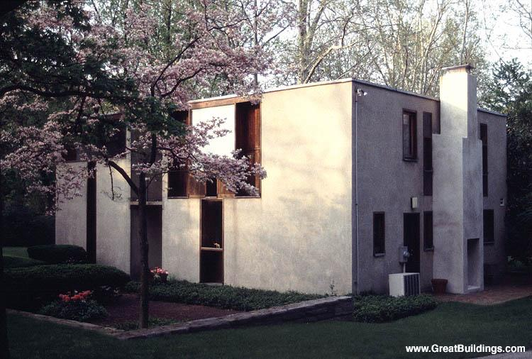 Esherick House Louis I Kahn Great Buildings Architecture