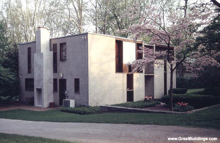 Esherick House - Louis I. Kahn - Great Buildings Architecture