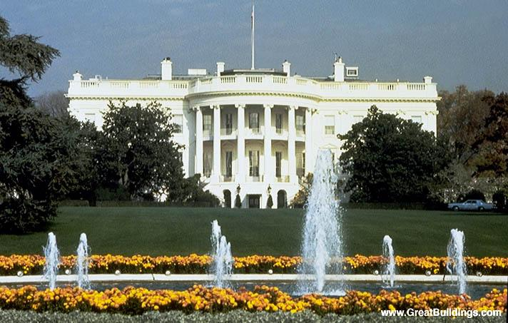 Great Buildings Image - The White House