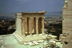 Temple Of Athena Nike Callicrates Great Buildings Architecture